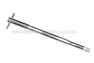 Wheel Spindle Front chrome with T bar