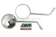 61927153 Mirror Long Chrome M10x1.25 L or R side