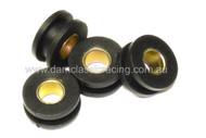 Rubber Grommet & Spacer 4/SET for front guard
