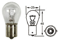 INDICATOR BULB LARGE HEAD 12V 21W BA15S