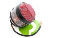 76102961 Tail Light Round CEV Black