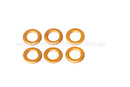 Copper Washer M6x10x1 (6/SET)
