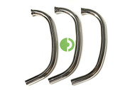63101100 Laverda Exhaust Headers SET SS 180ºJota 35mm