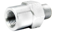 360100FAS Adaptor Female M10x1 Stainless