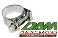 37121200.1 Ducati Exhaust Pipe Clamp stainless/zinc 40mm