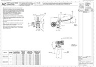 AP Racing Adjustable Master Cylinder Drawing CP3125