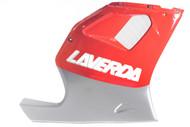 LV019G04000008 Laverda 668 RH fairing, silver/red