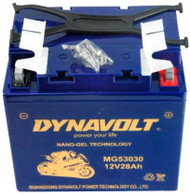 DYNAVOLT BATTERY NANO-GEL SERIES 12 Volt 28AH