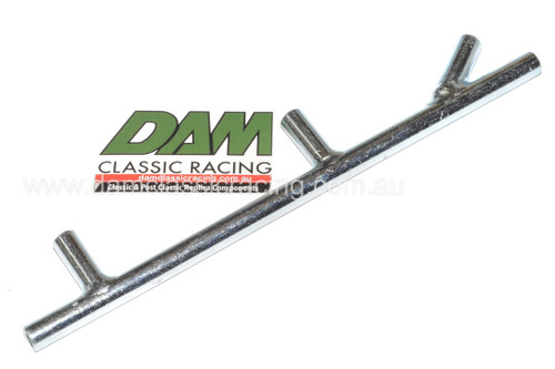 62500306 Laverda Fuel Feed Pipe Steel plated zinc