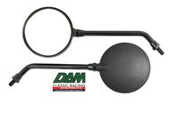 Mirror Long Black MK5 M10x1.25 L or R side