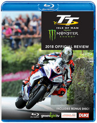 TT REVIEW 2018 (ISLE OF MAN TT OFFICIAL REVIEW) BLU-RAY