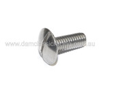 M6x14(16) Round Slotted Mushroom screw Stainless