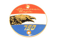 Laverda Badge 'AMERICAN EAGLE' SX ø72mm LEFT