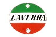 61913999.1 Badge LAVERDA Ø 72mm alloy