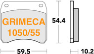 Brake Pads for Grimeca 1050/55