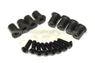 RUBBER FAIRING SCREW NUT M5x11x16