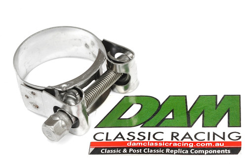 37184100 Exhaust Clamp Stainless 31-34mm