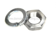 M14 Left Hand Thread Nut & Washer SET