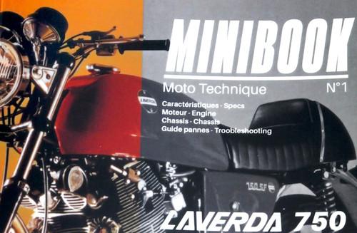 Mini Book Laverda 750