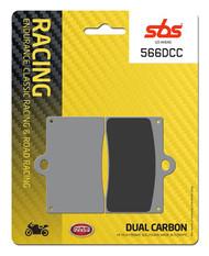 SBS 566DCC Dual Carbon Classic Pads P4 30/34