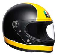 AGV X3000 Super AGV Matt Black/Yellow
