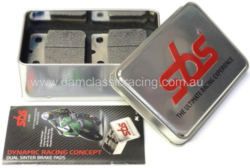 SBS 506DS-1 Dual Sinter DS-1 WSBK SPEC Race Pads 08