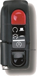 Domino Switch Start/Stop Black 0351AB.9A