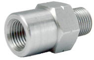 M10x1.25 FEMALE ADAPTER - CHROME 3/60125FAC