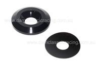 Fairing Cup Washer BLACK M6x19 LWAC6-19BK incl. fibre pad