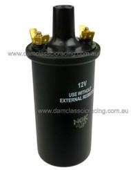 73351999.1 HT Ignition Coil 12V NGK (Use Without Resistor) - U1163 Oil Filled