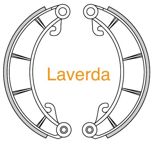 Laverda Brake Shoe with Lining drum dia 230mm