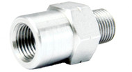 3/60100FAC Adaptor Female M10x1 Chrome