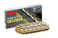 RK Chain GB520XS0 Gold 120L (clip)