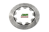 47201003 Brembo Brake Disc Drilled SS 280mm left side