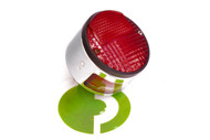 76102961.1 Tail Light Round CEV Chrome