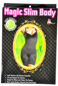 36af1b6d569 Fullness Bamboo Charcoal Magic Slim Body Suit