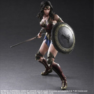 Batman v Superman: Dawn of Justice Play Arts Kai Wonder Woman Action Figure