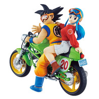 Desktop Real McCoy 05 Son Goku & Chi-Chi PVC Figure