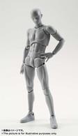 S.H.Figuarts Body-kun DX Set (Gray Color Ver.) Action Figure ( OCT 2016 )