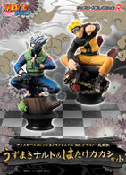 Chess Piece Collection R Premium NARUTO Shippuden Uzumaki & Hatake Kakashi SET