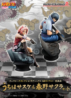 Chess Piece Collection R Premium NARUTO Shippuden Sasuke and Haruno Sakura SET