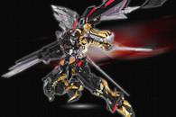 BANDAI METAL BUILD Gundam Astray Gold Frame Amatsu Mina