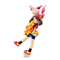 G.E.M. Series Pokemon (Haruka & Torchic & Skitty) PVC Figure