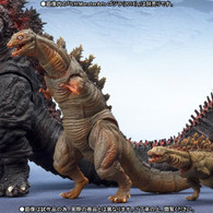 S.H.MonsterArts Godzilla(2016) The Second form & Third form Action Figure