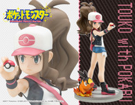 ARTFX J Hilda Touko with Tepig 1/8 PVC Figure ( IN STOCK )