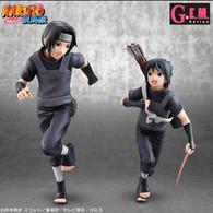 G.E.M. NARUTO Shippuden Itachi & Sasuke PVC Figure (Completed)