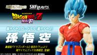 BANDAI Premium S.H.Figuarts Super Saiyan God SS Son Goku