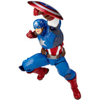 Figure Complex Amazing Yamaguchi No.007 Captain America Action Figure (Completed)