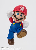 S.H.Figuarts Mario (New Package Ver.) Action Figure (Completed)