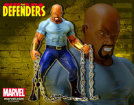 ARTFX+ The Defenders Luke Cage 1/10 PVC Figure (Completed)